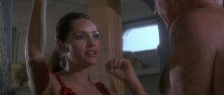 Fatima Blush (played by Barbara Carrera) Never Say Never Again 88-0