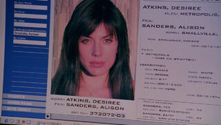 Desiree Atkins (played by Krista Allen) Smallville 49