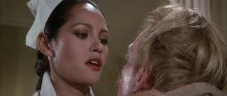 Fatima Blush (played by Barbara Carrera) Never Say Never Again 20