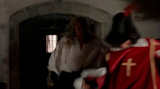 Justine de Winter (played by Kim Cattrall) The Return of the Musketeers 2032