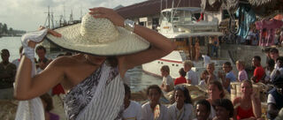 Fatima Blush (played by Barbara Carrera) Never Say Never Again 122-0
