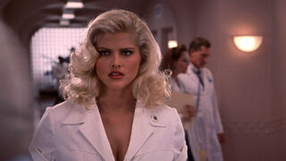 Tanya Peters in Naked Gun 3 (played by Anna Nicole Smith) 77