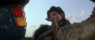 Fatima Blush (played by Barbara Carrera) Never Say Never Again 46