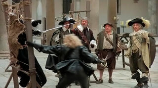Justine de Winter (played by Kim Cattrall) The Return of the Musketeers 959