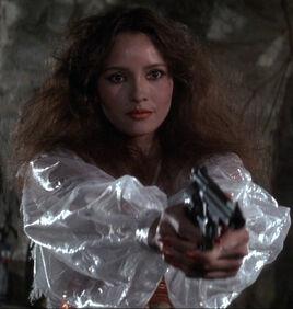 Fatima Blush (played by Barbara Carrera) Never Say Never Again 00