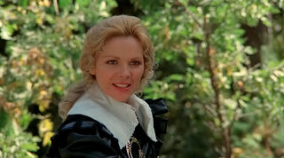 Justine de Winter (played by Kim Cattrall) The Return of the Musketeers 149