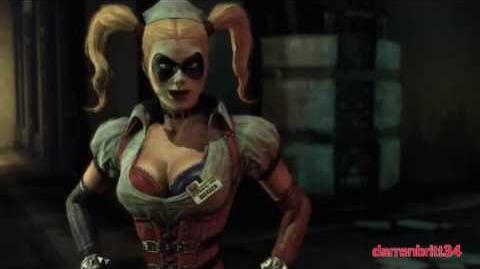 "Batman Arkham Series Best of ""Harley Quinn"" Cutscenes"