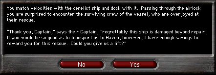 DISABLED SHIP MISSION MSG