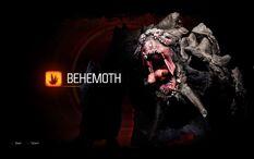 Behemoth roaring