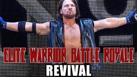 Elite Warrior Battle Royale Revival - AJ Styles