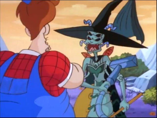 Earthworm Jim Cartoon S2 E10 The Wizard of Ooze-0