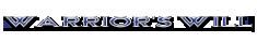 Warrior's Will Logo copybetter