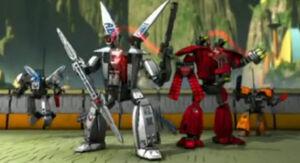 Exo-Force Team Split Mountain Era
