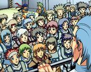 Exo-Force teams