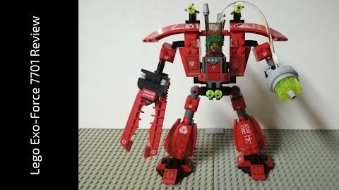 Lego Exo-Force 7701 Grand Titan Review (HD)