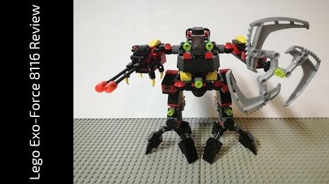 Lego Exo-Force 8116 Jungle Thrasher Review (HD)