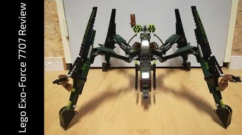 Lego Exo-Force 7707 Striking Venom Review (HD)