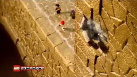 LEGO EXO FORCE 2007 Mobile Devastator Commercial 2