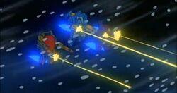 Fox Squad Yuri Leads Attack