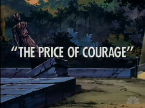 The Price of Courage titlecard
