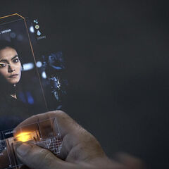 A photo of Julie Mao sent to Miller's phone