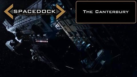 The Expanse The Canterbury - Spacedock