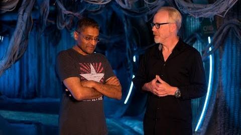 Adam Savage Interviews Naren Shankar of The Expanse!