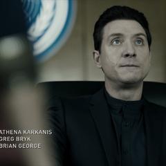 Athena Karkanis as Octavia Muss; Greg Bryk as Lopez; Brian George as Arjun Rao/Avasarala