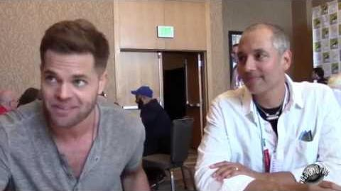 "SDCC 2015 The Expanse Wes Chatham ""Amos Burton"" and Hawk Ostby (EP)"