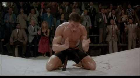 Jean-Claude Van Damme Bloodsport Final Fight (1988) - High Quality