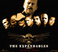 The expendables poster by snake eater88 one of the original fanmade posters