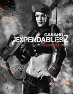 The expendables 2 gina carano commando pic by pokerhlis-d4xws5f
