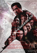 Expendables early fan made poster 2010
