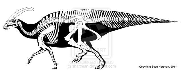 File:Parasaurolophus - 1(P. walkeri).jpg