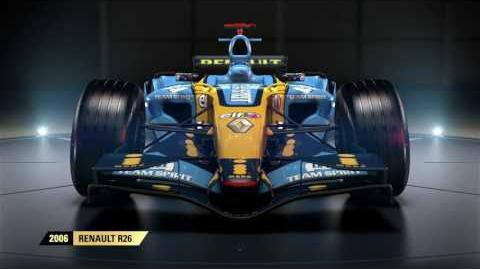 F1 2017 Classic Car Reveal - 2006 Renault R26 UK
