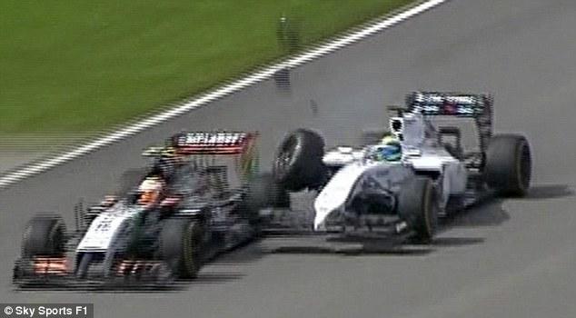 File:2014 Canadian Grand Prix Massa & Perez.jpg