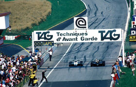 Elio de Angelis 1982 Austrian Grand Prix