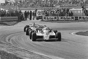 Arnoux at 1980 Dutch Grand Prix