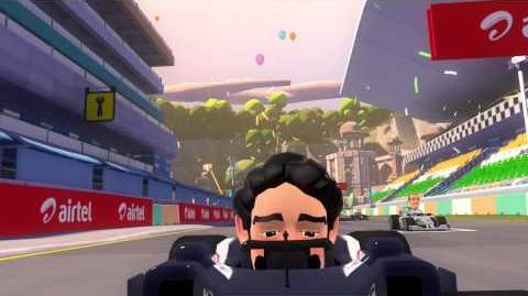 F1 RACE STARS - India DLC Track Fly Through