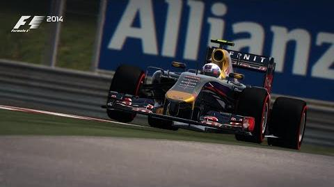 F1 2014 Austrian Red Bull Ring Hot Lap