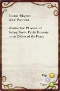 Warrant for Arson 2