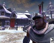Snowspire Village Guard