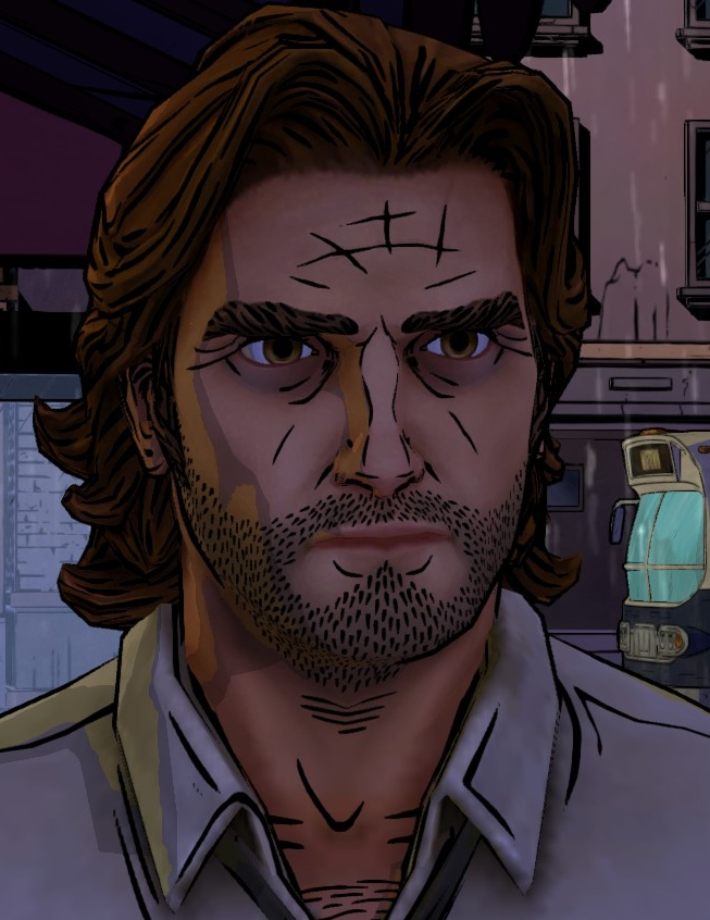 Bigby Wolf (Video Game) Fables Wiki FANDOM powered by - Beauty And The Beast Hairstyle