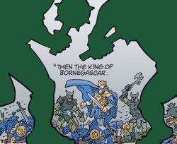 King of Bornegascar Death