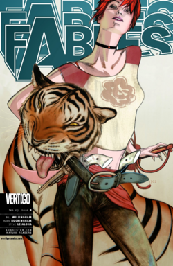 Fables 8 Cover