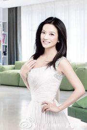 Vicki Zhao White Dress Full 2010