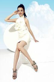 Zhao Sei Sky Yellow Dress Full