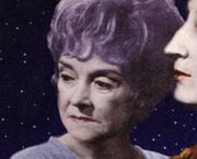 Bafflement and Devotion Beryl Reid as Iris