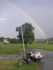 Lastentransport Dalli Regenbogen