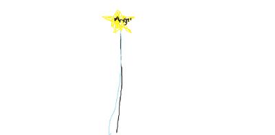 Angel's first wand